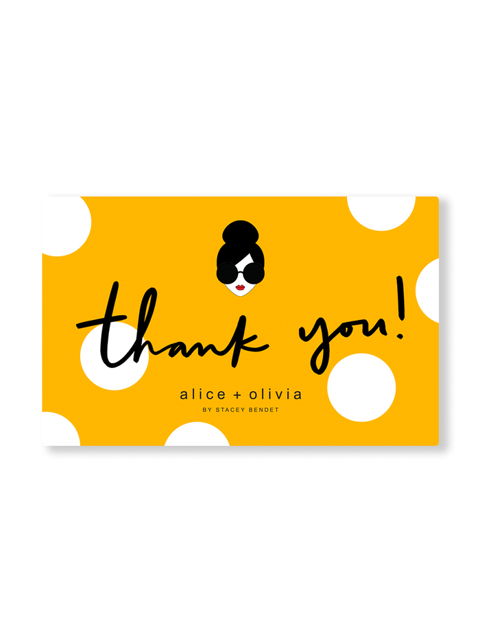 THANK YOU E-GIFT CARD -