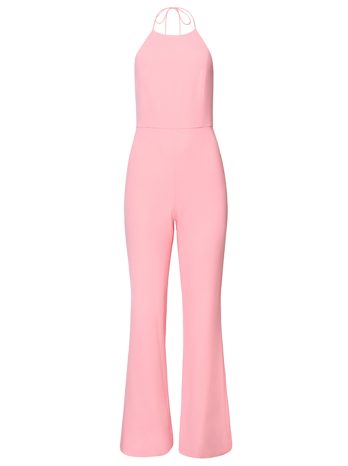 ADINAH HIGH NECK JUMPSUIT - PINK - Alice And Olivia
