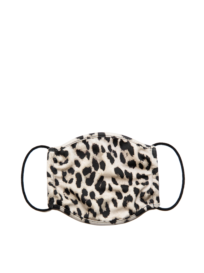 FACE MASK - ROYAL LEOPARD SM - Alice And Olivia