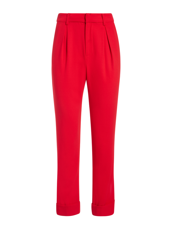 ARDELL HIGH WAISTED PANT - PAPRIKA - Alice And Olivia