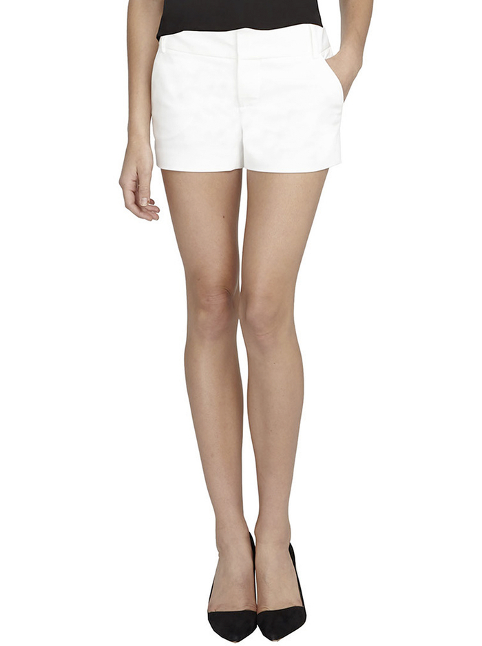 CADY SHORT - WHITE - Alice And Olivia