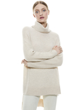 SAWYER TURTLENECK PULLOVER - OATMEAL