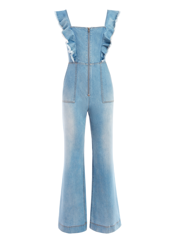 GORGEOUS OPEN BACK JUMPSUIT - ONE IN A MILLION - Alice And Olivia