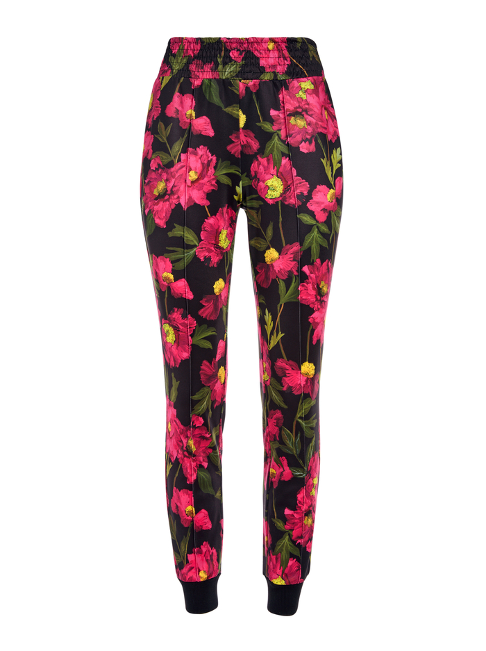 TOKYO FLORAL JOGGER - CALIFORNIA POPPY - Alice And Olivia