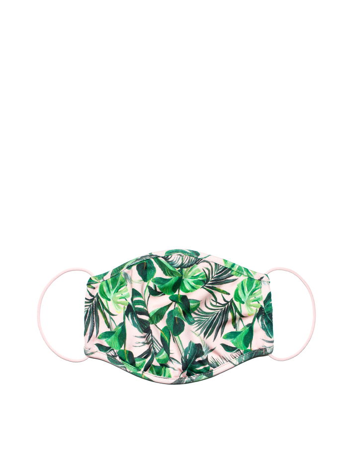 PROTECTIVE FACE MASK - PALM - Alice And Olivia