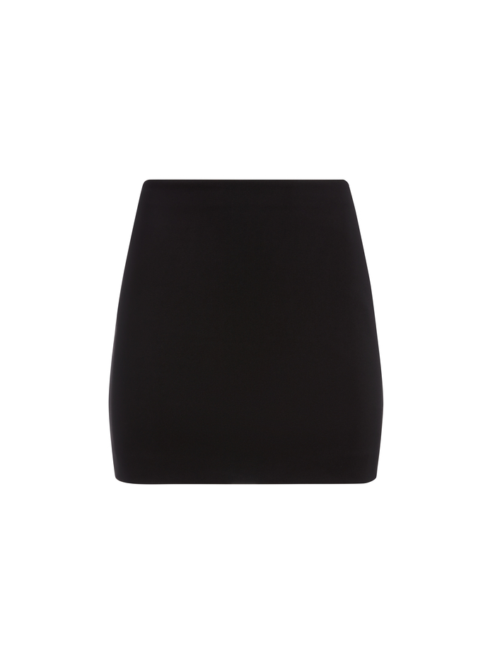 ELANA MINI SKIRT - BLACK - Alice And Olivia