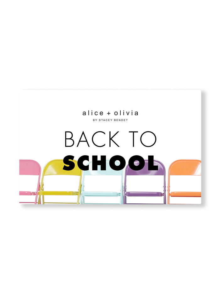 BACK TO SCHOOL E-GIFT CARD -