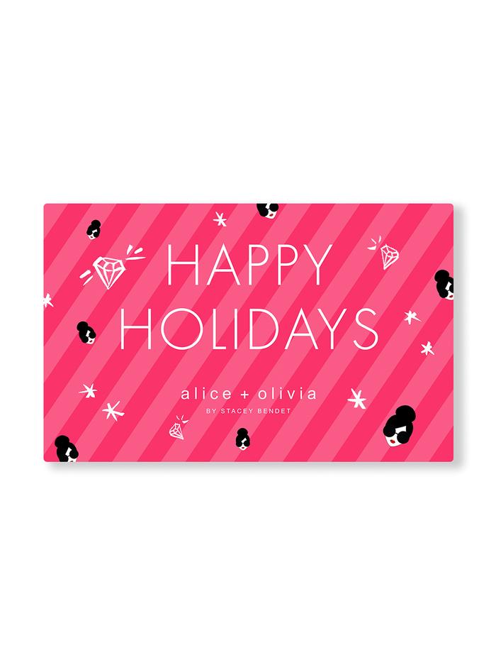 HAPPY HOLIDAYS E-GIFT CARD -