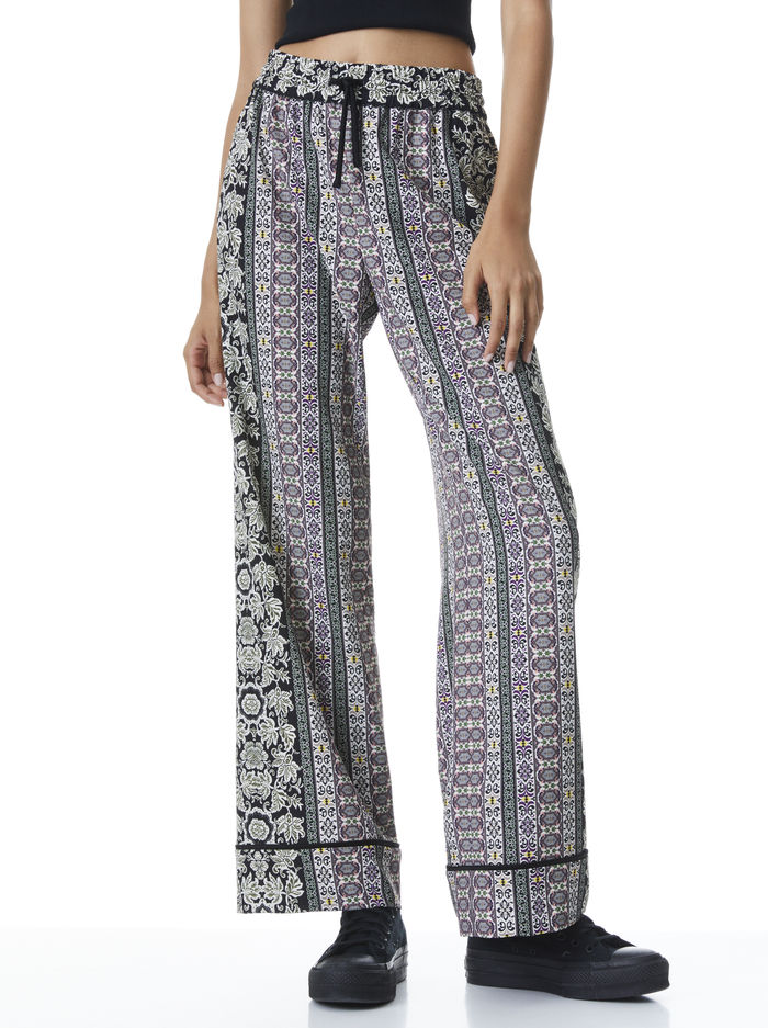 MEERA PIPED SUIT PANT - DREAM CASTLE/COMBO - Alice And Olivia
