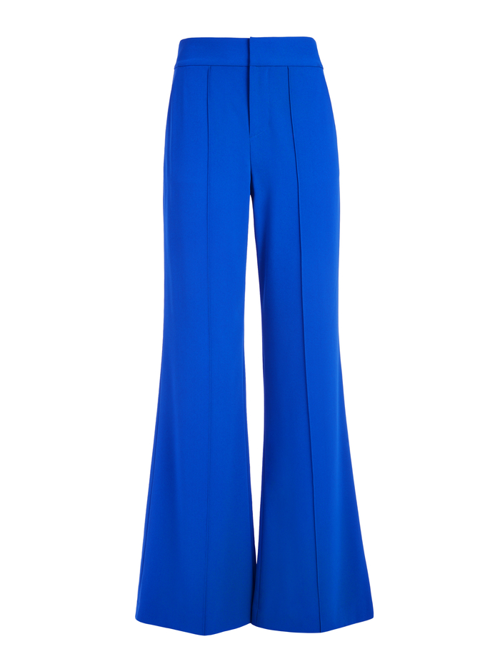 DYLAN HIGH WAISTED PANT - ULTRA MARINE - Alice And Olivia