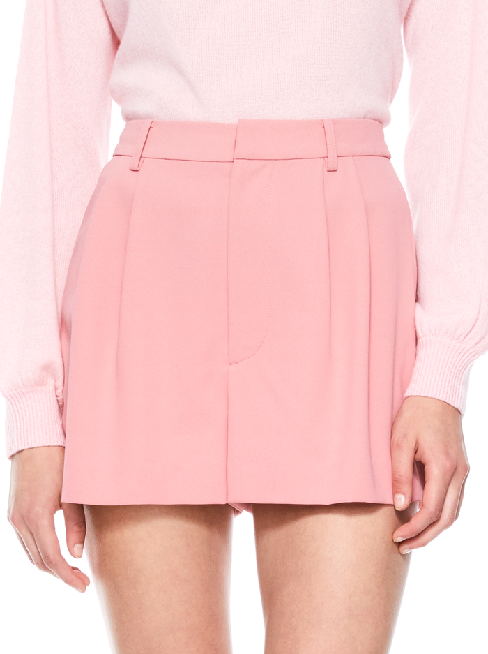 CONRY PLEATED SHORT - ROSE - Alice And Olivia