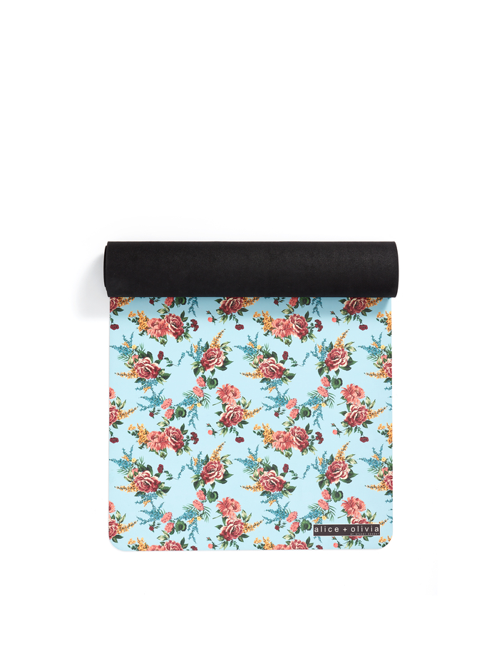 GLORIA YOGA MAT - FLORAL EXPRESS SM WATERFALL - Alice And Olivia