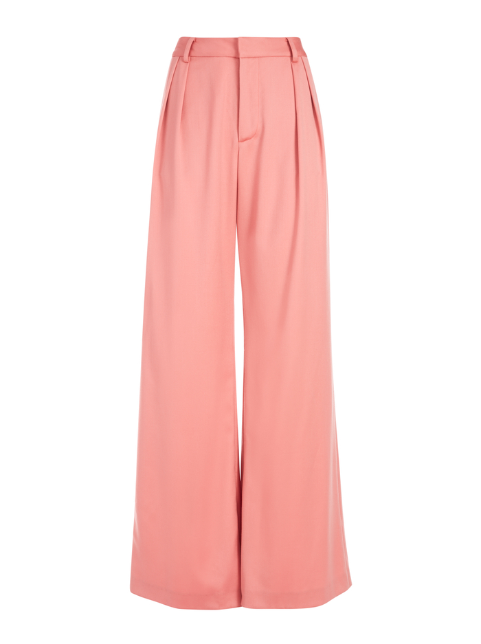 ERIC HIGH WAISTED PANT - ROSE - Alice And Olivia