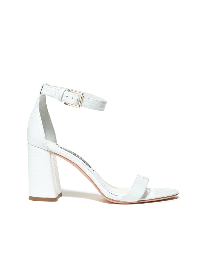 LILLIAN HEEL - WHITE - Alice And Olivia
