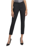 STACEY SLIM TROUSER - BLACK