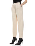 ROY PLEATED FRONT PANT - SEPIA