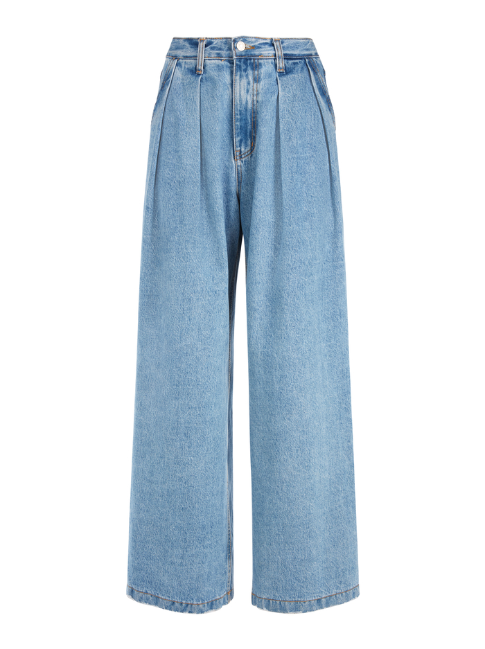 KATE DEEP PLEAT JEAN - NOT YOURS - Alice And Olivia