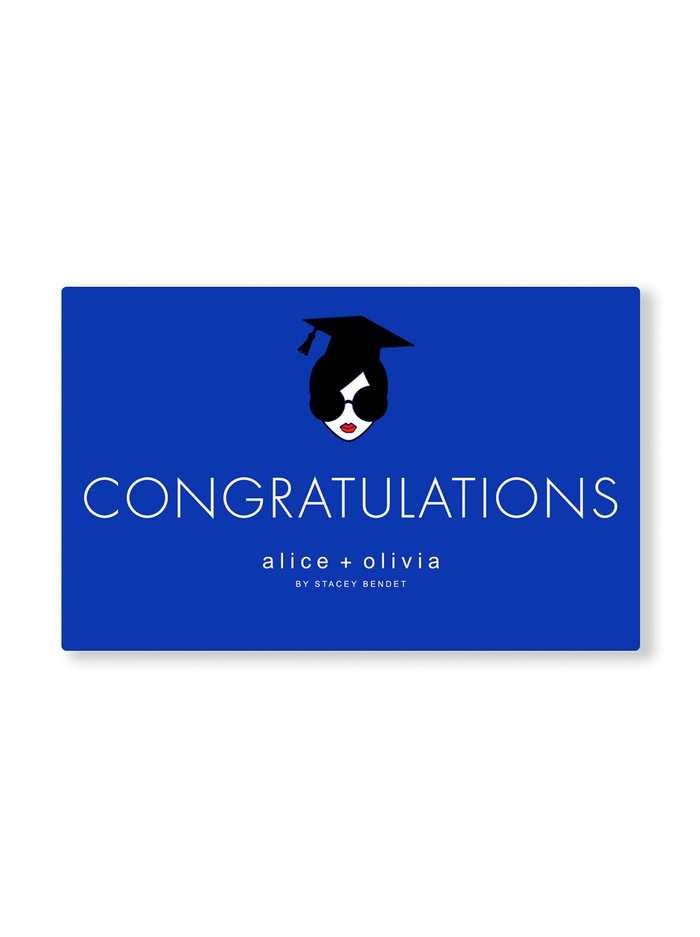 CONGRATULATIONS E-GIFT CARD -