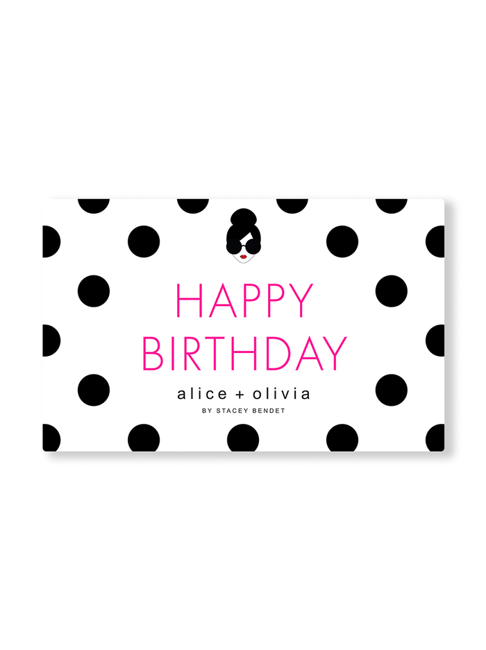 HAPPY BIRTHDAY E-GIFT CARD -