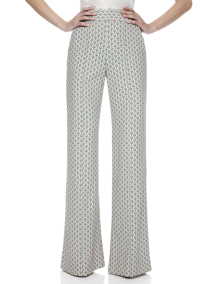DYLAN HIGH WAISTED WIDE LEG PANT -  - Alice And Olivia