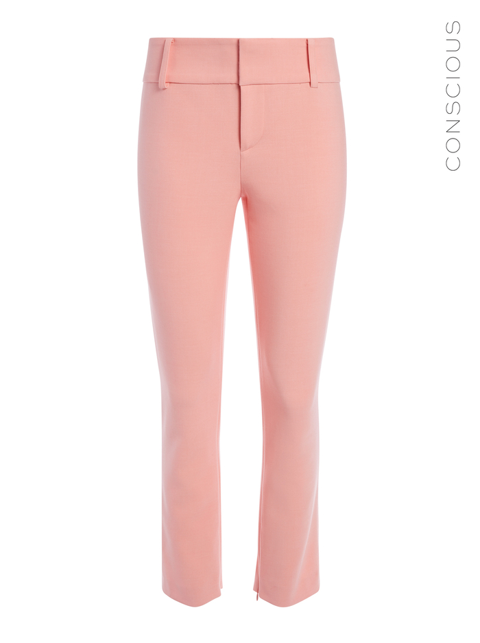 STACEY SLIM ANKLE PANT - BLUSH - Alice And Olivia