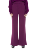 DYLAN HIGH WAISTED PANT - BOYSENBERRY