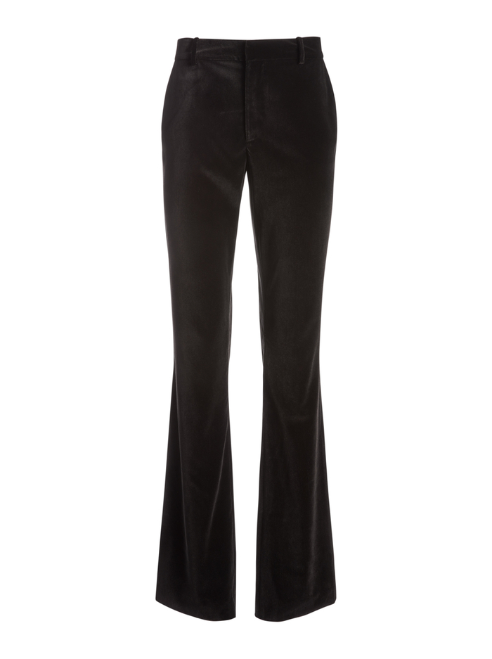 HAYLEY BOOT CUT PANT - BLACK - Alice And Olivia