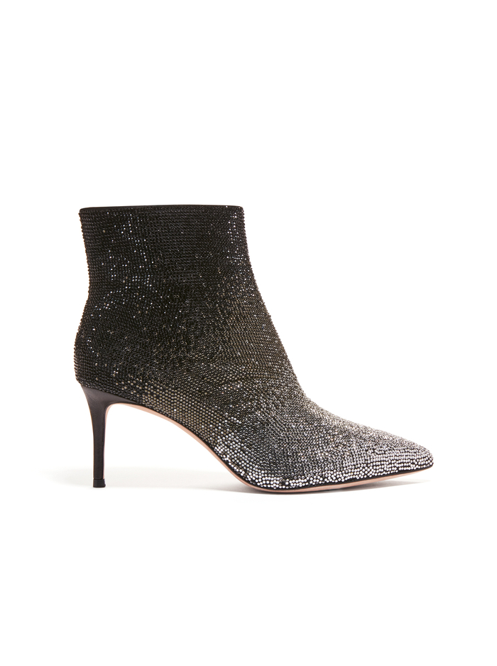 MAESEN CRYSTAL OMBRE BOOTIE - BLACK - Alice And Olivia