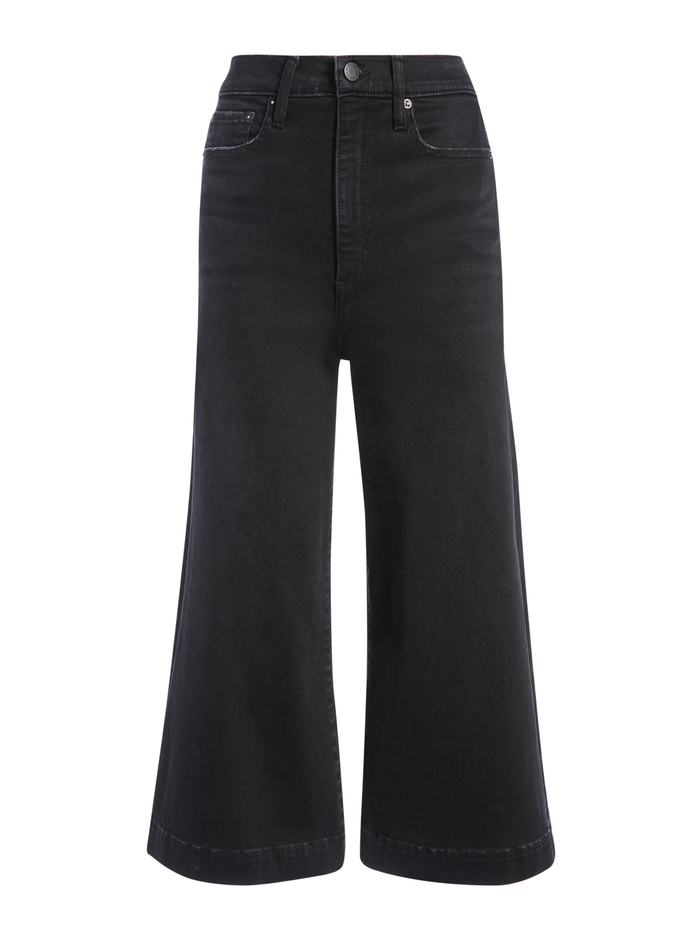 GORGEOUS GAUCHO PANT - NOIR - Alice And Olivia