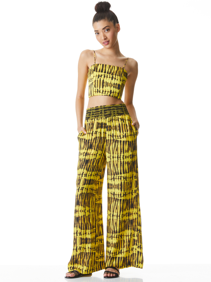 CERESI BANDEAU TOP + RUSSELL PANT -