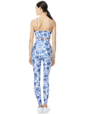 AARON HIGH WAIST LEGGING - FORGET ME NOT LG ANTIQUE WHITE