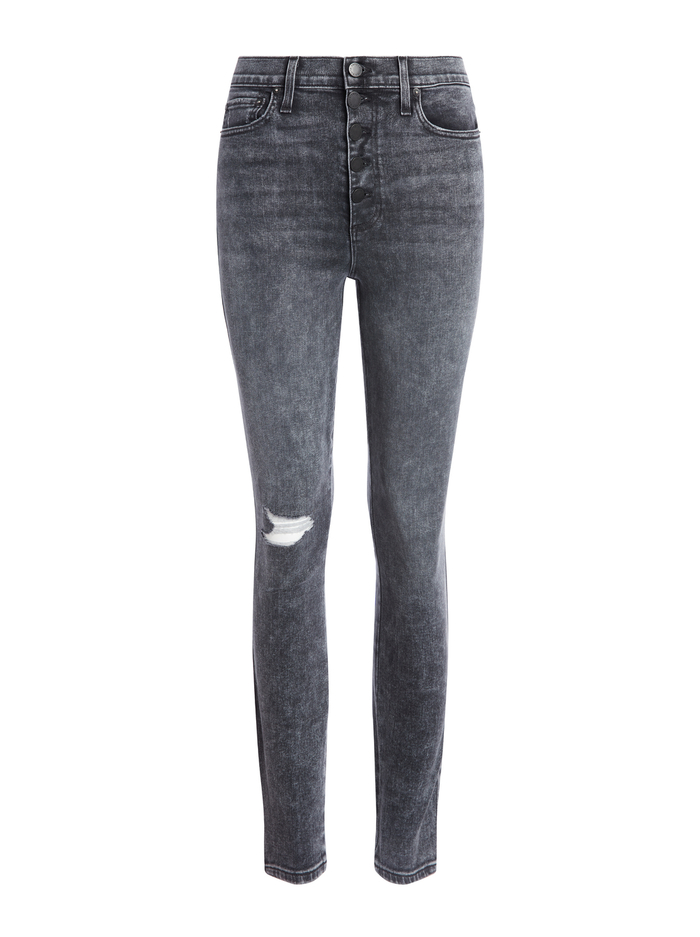 GOOD HIGH RISE ANKLE SKINNY JEAN - OH BABY - Alice And Olivia