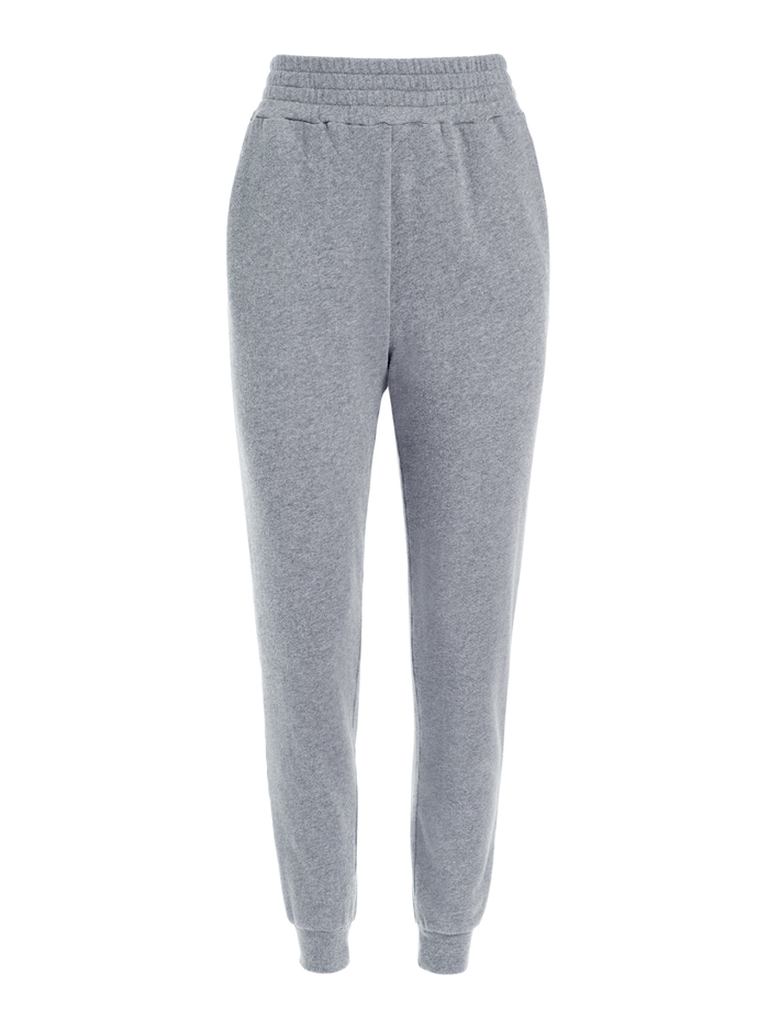 NYC SLIM JOGGER - CHARCOAL - Alice And Olivia