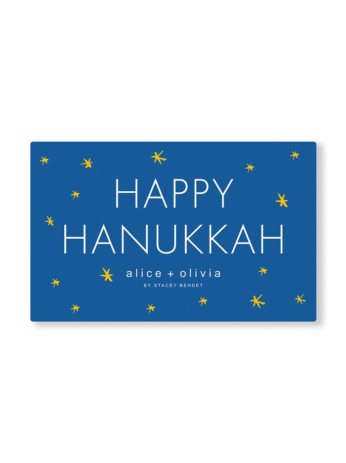 HAPPY HANUKKAH E-GIFT CARD -