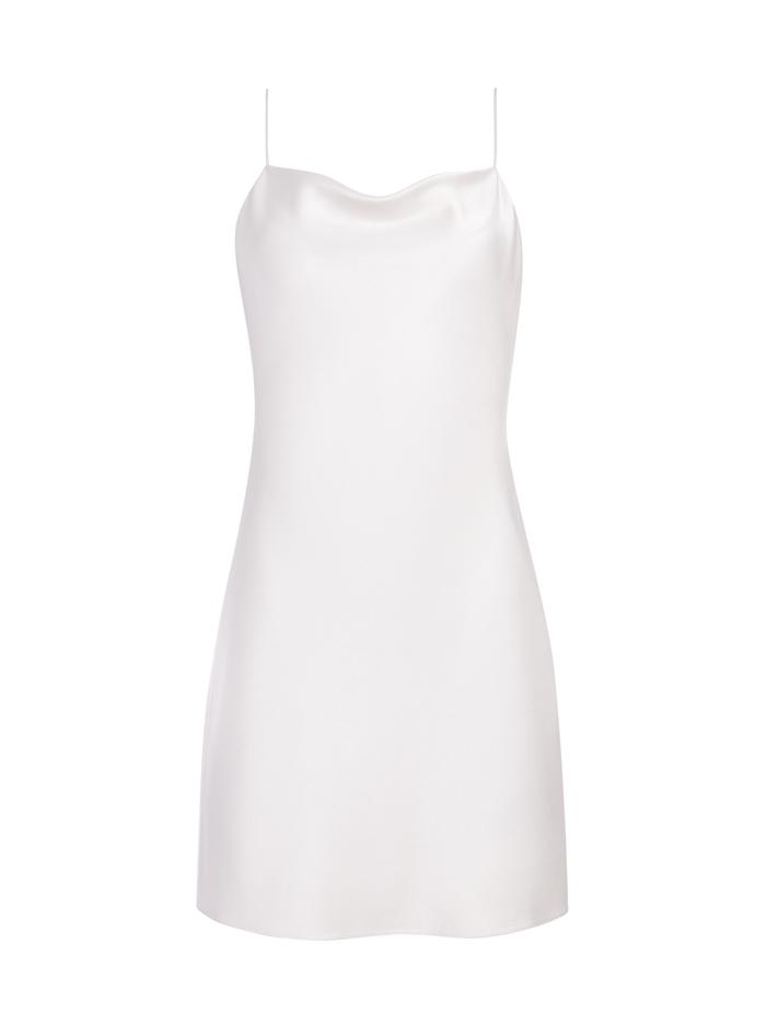 HARMONY MINI COCKTAIL DRESS - OFF WHITE - Alice And Olivia