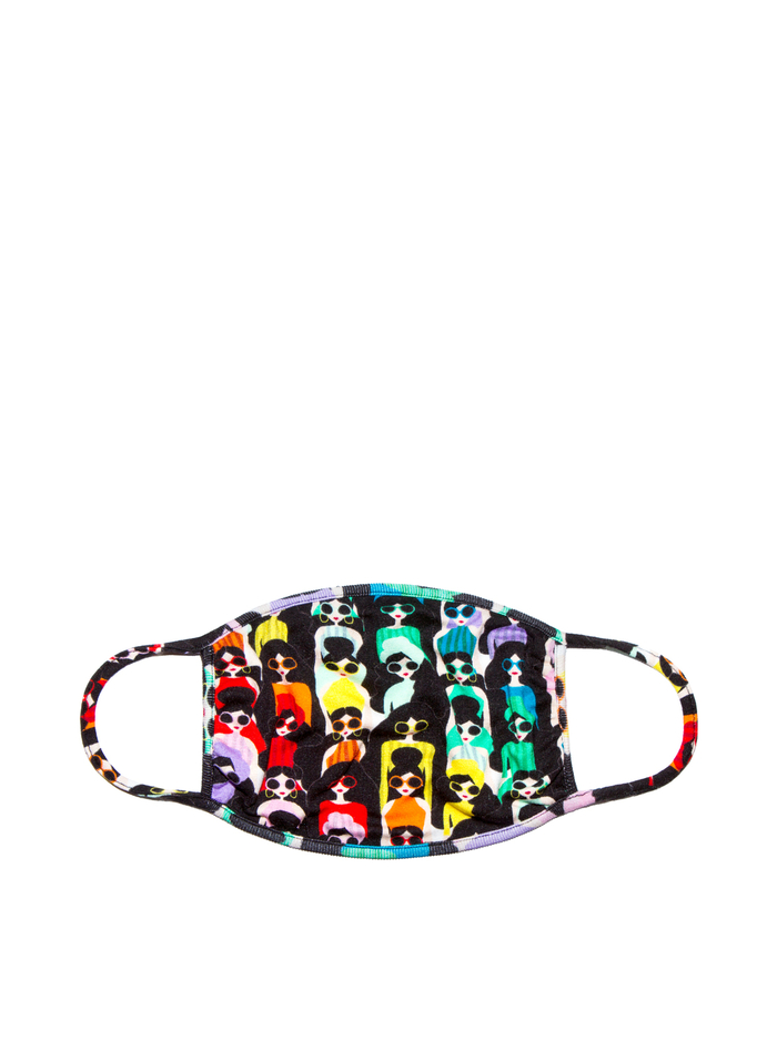 PROTECTIVE FACE MASK - RAINBOW STACE SQUAD - Alice And Olivia