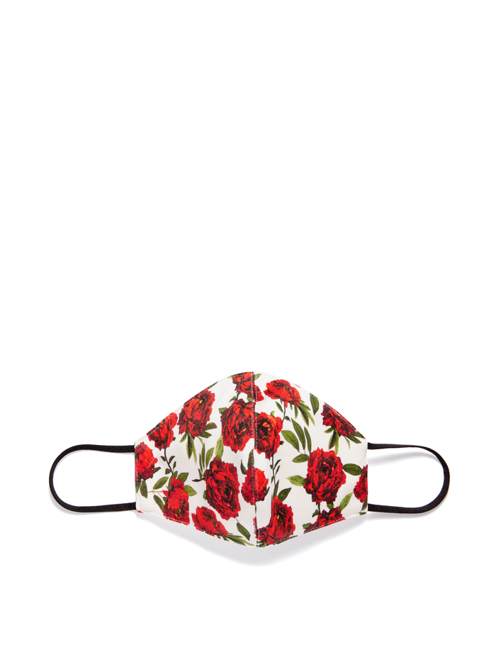 ABBI STRUCTURED FACE MASK - LILAS ROSE - Alice And Olivia