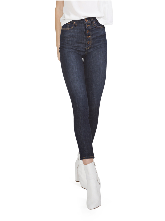 GOOD HIGH RISE SKINNY JEAN - DREAM ON - Alice And Olivia
