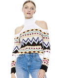 LEORA FAIRISLE TURTLENECK - MULTI