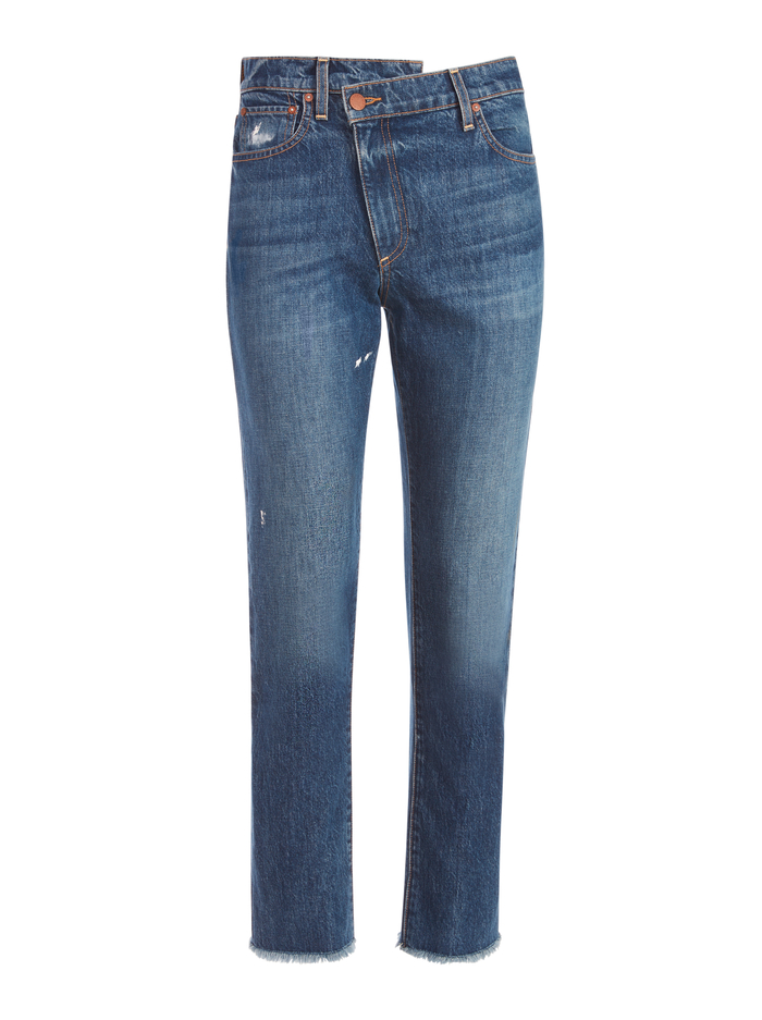 AMAZING ASYMMETRICAL JEAN - STOKED - Alice And Olivia