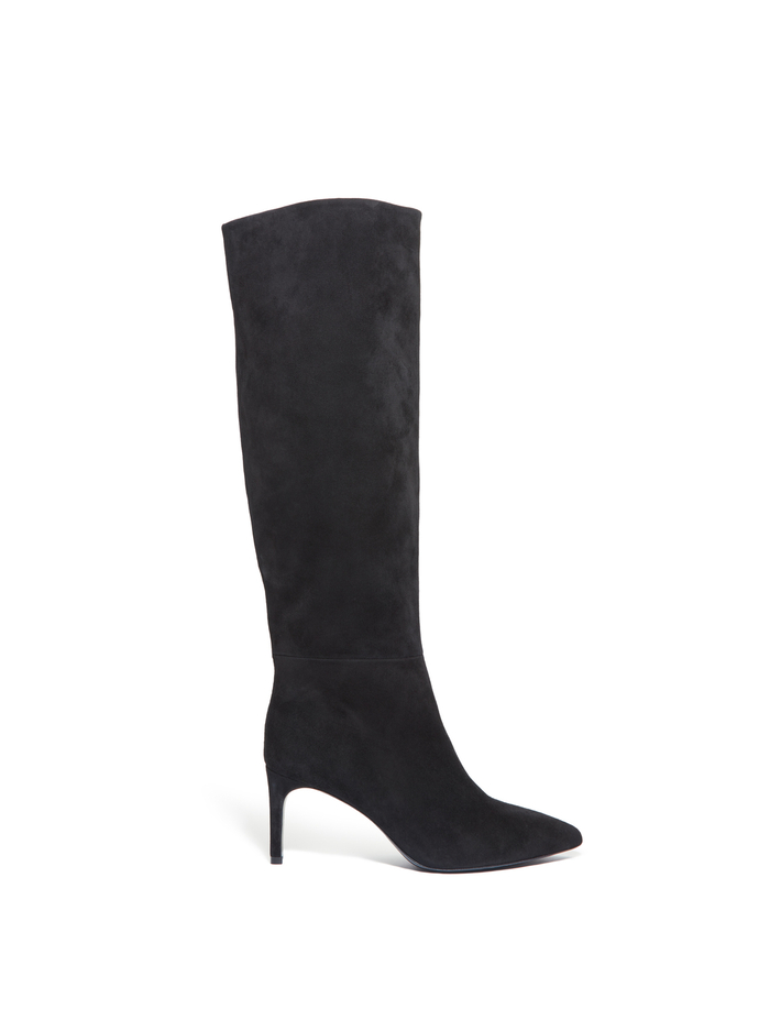 MAEVEN SUEDE BOOT - BLACK - Alice And Olivia