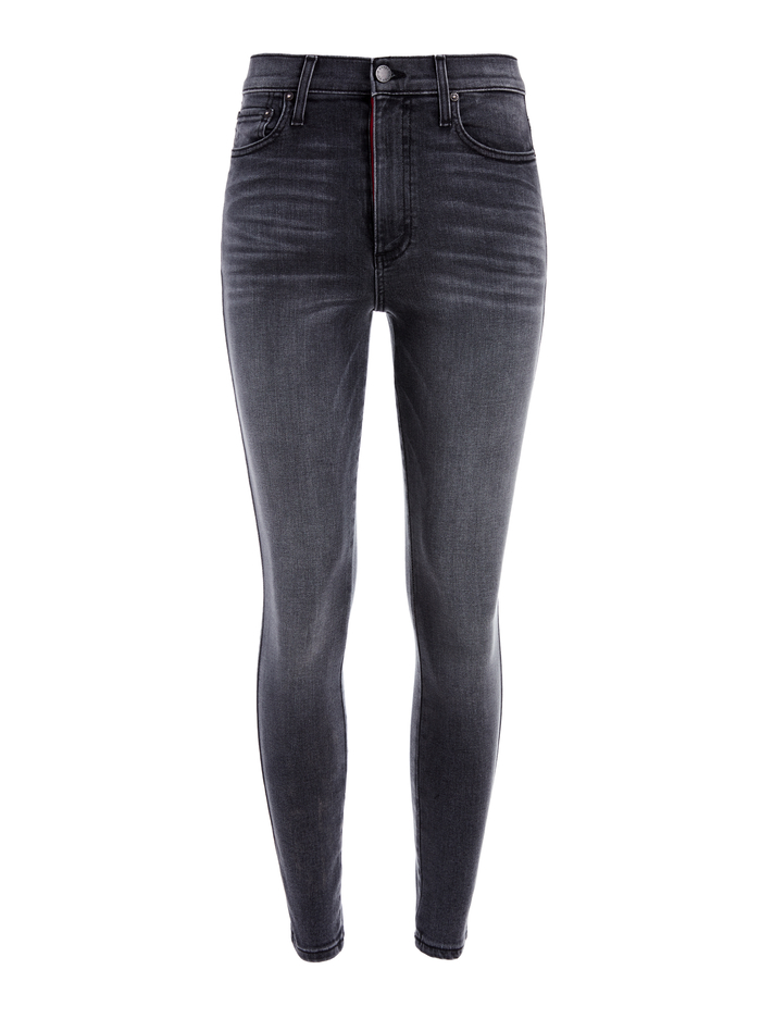 GOOD HIGH RISE ANKLE SKINNY - ROGUE - Alice And Olivia