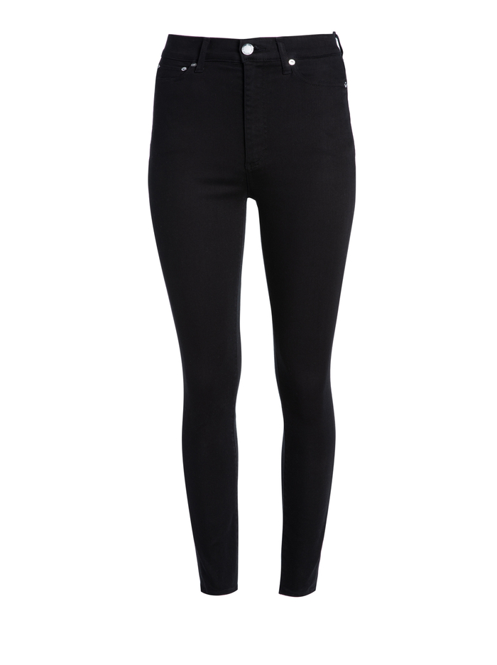 GOOD HIGH RISE SKINNY JEAN - NIGHT FEVER - Alice And Olivia