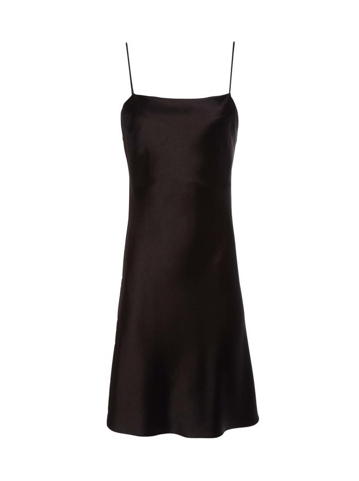 HARMONY MINI SLIP DRESS - BLACK - Alice And Olivia
