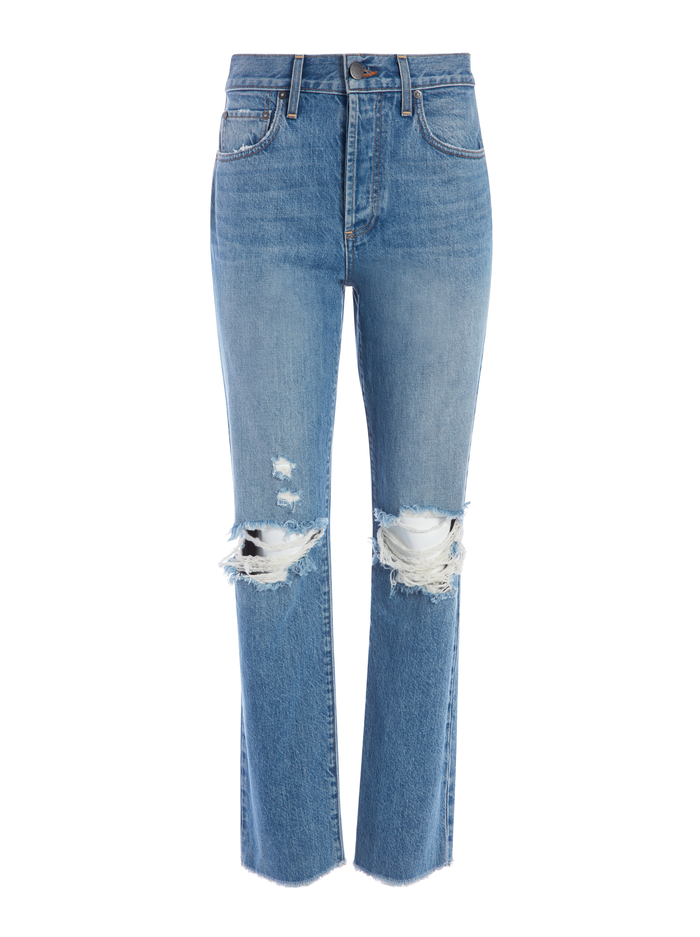 AMAZING HIGH RISE BOYFRIEND JEAN - NOT YOURS - Alice And Olivia