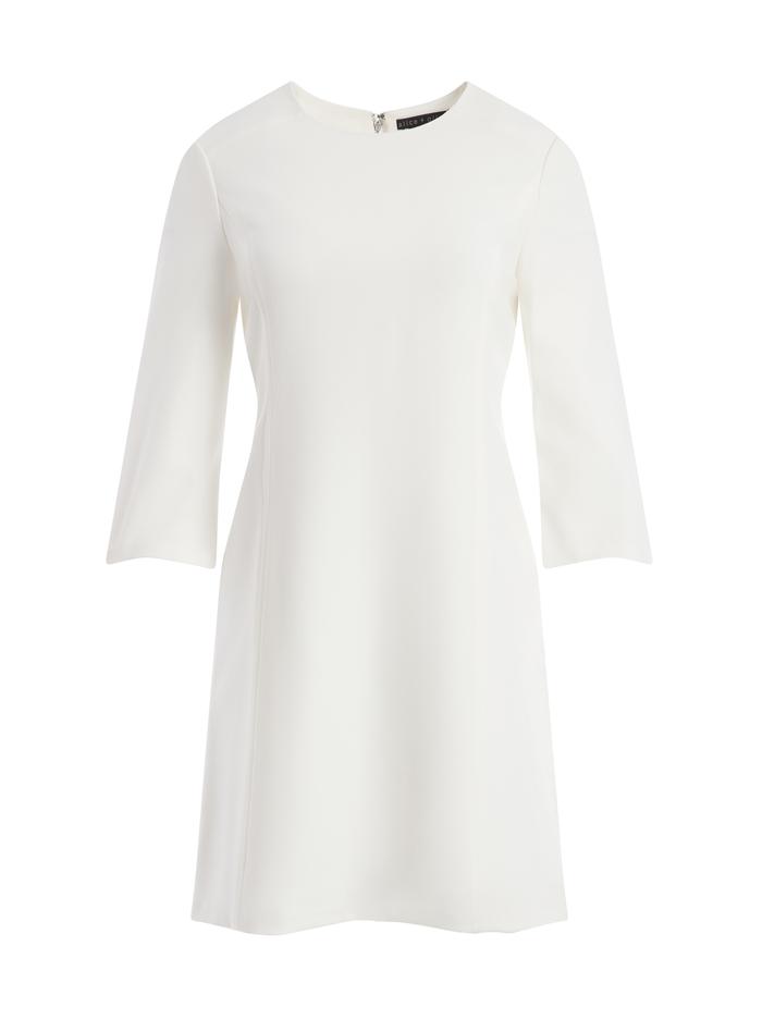 GEM SHIFT DRESS - OFF WHITE - Alice And Olivia