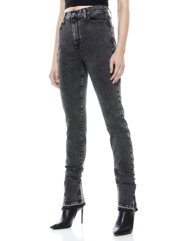 GOOD STACKED SKINNY JEAN - ROGUE - Alice And Olivia