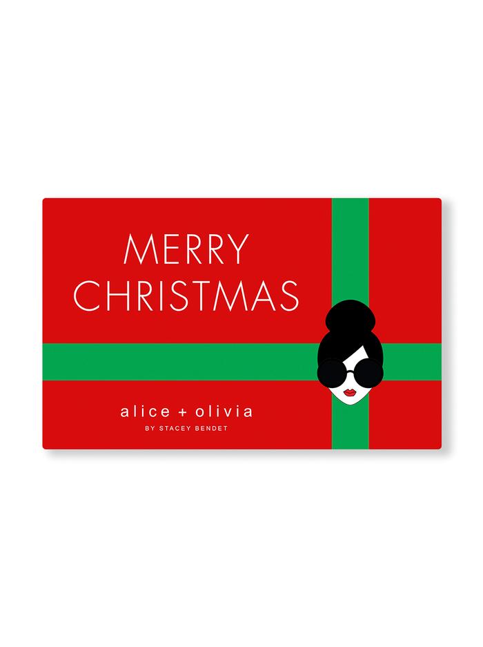 MERRY CHRISTMAS E-GIFT CARD -