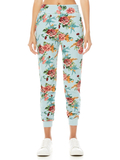 NYC FLORAL SLIM JOGGER - FLORAL EXPRESS SM WATERFALL