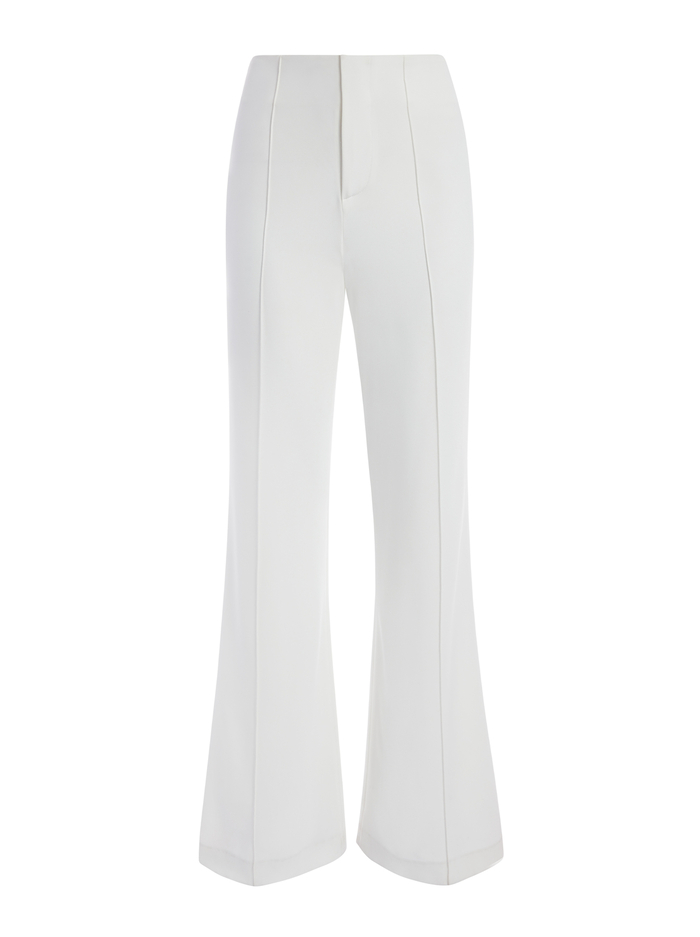 DYLAN HIGH WAISTED PANT - OFF WHITE - Alice And Olivia